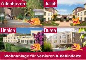 Seniorenwohnanlagen in Aldenhoven, Düren, Jülich und Linnich