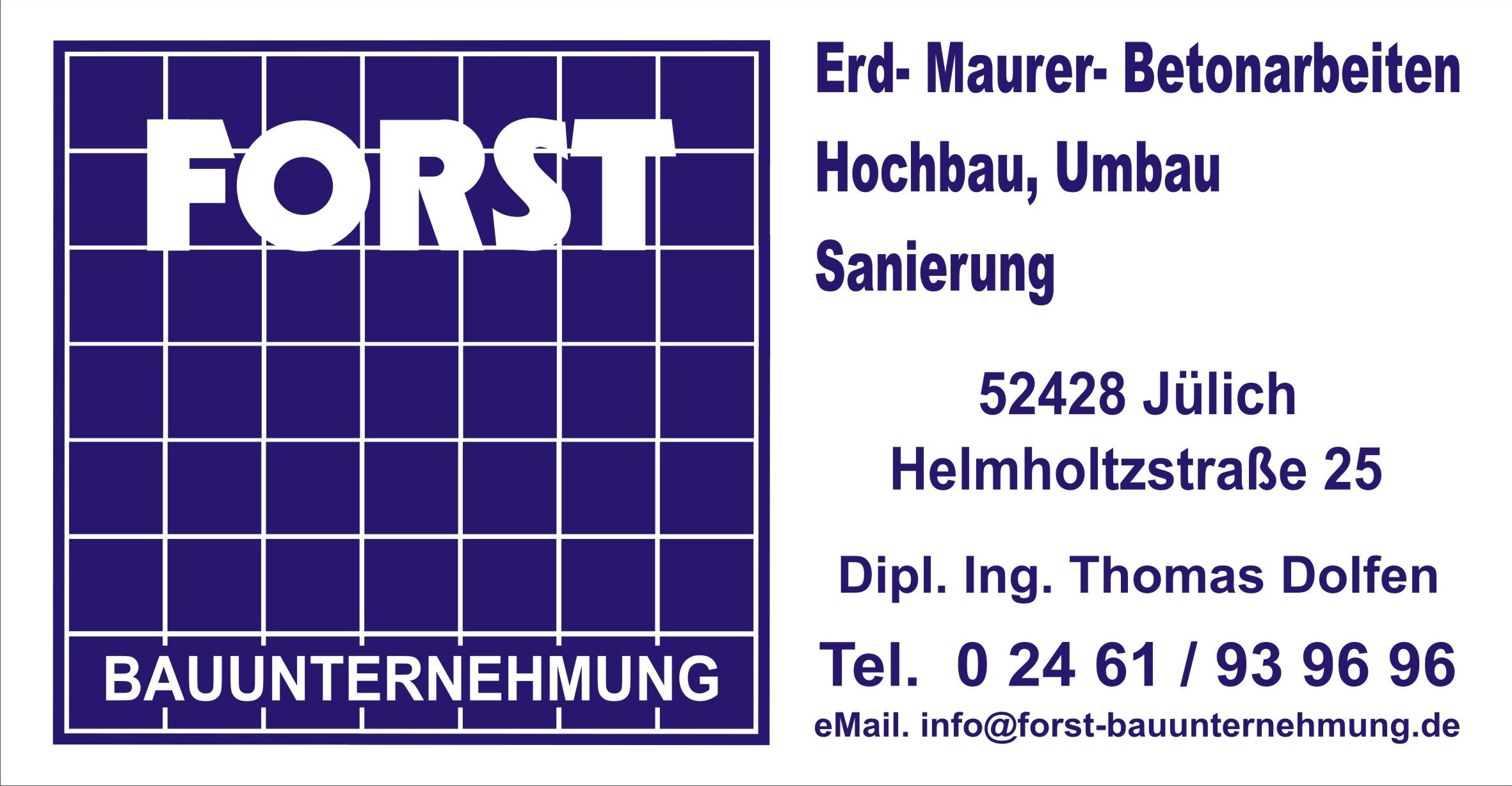 Bauunternehmung Forst